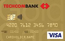 thẻ tín dụng techcombank visa gold